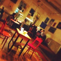 Photo taken at Cafe Gallery • კაფე გალერი by Ulvi S. on 12/11/2012
