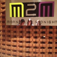Photo taken at M2M (Morning to Midnight) by Love P. on 11/3/2012