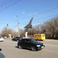 "Photo taken at Памятник ""Самолет"" by Константин К. on 4/20/2013"