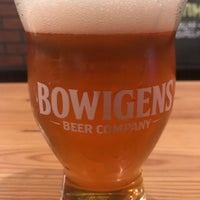 Photo taken at Bowigens Beer Company by Dale W. on 8/25/2017