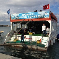 Photo taken at Körfez Diving by 'Basak &. on 10/21/2012