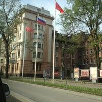 Photo taken at Администрация Выборгского района by Aleksandr . on 5/17/2013