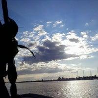 Photo taken at Cedar Island Marina by Steve R. on 8/17/2014