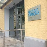 Photo taken at Французский институт / Institut Français de Moscou by Victoria N. on 7/15/2013