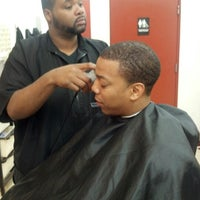 Photo taken at JS16 Next Level Barber Shop by Pablo G. on 10/17/2012
