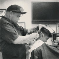 Photo taken at Stay Gold Barber Shop by Mitchelle L. on 1/19/2013