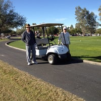Photo taken at Dave White Muniipal golf course by Priscilla R. on 11/29/2013