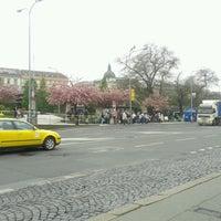 Photo taken at Florenc (bus) by Petr K. on 5/2/2013