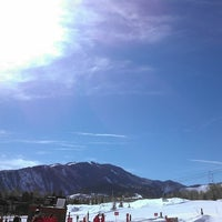 Photo taken at Buttermilk Mountain by Adrian P. on 3/8/2013
