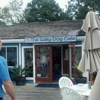 Photo taken at The Salty Dog Cafe by Travis L. on 10/26/2012