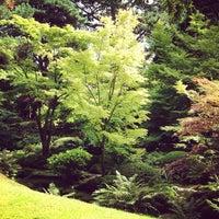 Photo taken at Tatton Park Japanese Garden by Joe G. on 8/31/2013