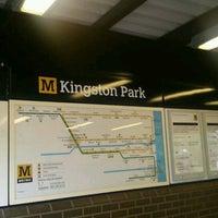 Photo taken at Kingston Park Metro Station by Liam B. on 1/20/2017