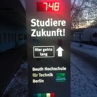Das Foto wurde bei Beuth Hochschule für Technik von Andreas K. am 12/8/2012 aufgenommen