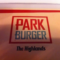 Photo taken at Park Burger by D on 10/6/2012