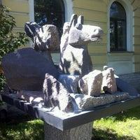 Снимок сделан в Государственный музей городской скульптуры пользователем Nadezhda K. 6/12/2013
