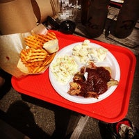 Photo taken at Highland BBQ by Patrick W. on 5/31/2014