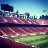 Photo taken at Stanford Stadium by John on 5/29/2013