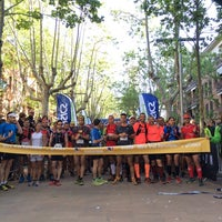 Photo taken at ultra trail BCN Begues check point by Marc on 4/26/2014