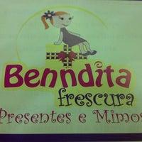 Photo taken at Benndita Frescura by Letícia Barbosa on 4/16/2013