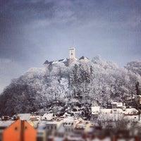 Photo taken at Ljubljana Castle by Aleksander H. on 12/10/2012
