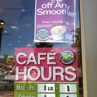 Photo taken at Tropical Smoothie Cafe by Amber K. on 10/21/2012