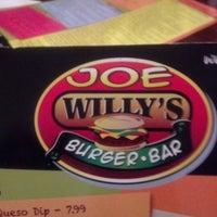 Photo taken at Joe Willy's Burger Bar by Doug P. on 11/24/2012