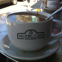 Photo taken at Atomic Café by Corey P. on 4/28/2013