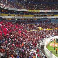 Photo taken at Estadio Jalisco by Andrew O. on 3/18/2013