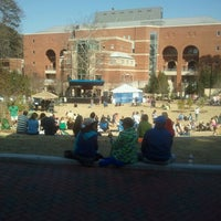 Photo taken at Bell Tower Amphitheatre by Addison E. on 4/6/2013