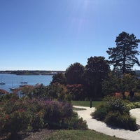 Photo taken at Fort Allen Park by Patty M. on 10/29/2017