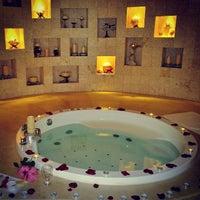Photo taken at Adonis Spa Resort by Ken D. on 12/4/2013