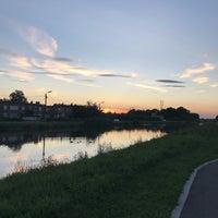 Photo taken at Auwegemvaart by Cheyenne V. on 8/16/2017