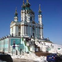 Снимок сделан в Андреевская церковь пользователем Наталья С. 3/29/2013