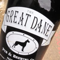 Photo taken at Great Dane Pub & Brewing Company by Robert S. on 5/4/2013