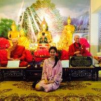 Photo taken at วัดทองสุทธาราม by NucHa R. on 10/30/2014