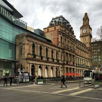 Photo taken at Melbourne's GPO by Ivan H. on 8/8/2014