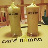 Photo taken at Cafe Namoo by Novita on 1/27/2014