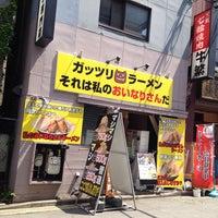 Photo taken at ガッツリラーメン それは私のおいなりさんだ by Tsutomu M. on 5/2/2014