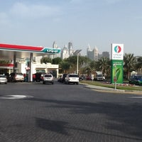 Photo taken at ENOC - Green Station by Naz M. on 3/10/2013