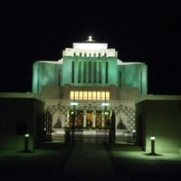Photo taken at Cardston Alberta Temple by Leif A. on 1/3/2013