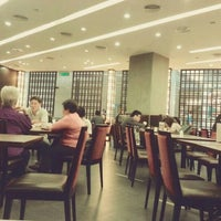 Photo taken at Crystal Jade Kitchen (翡翠小厨) by Martina M. on 10/31/2012