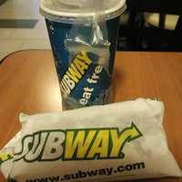 Photo taken at SUBWAY by Hou F. on 2/28/2016