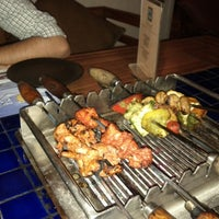 Photo taken at Barbeque Nation by Kushal G. on 10/12/2012