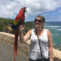 Photo taken at Amelia Earhart marker at Diamond Head Lookout by Sonia P. on 4/25/2017