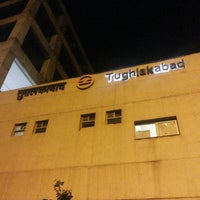 Photo taken at Tughlaqabad Metro Station by Ashish S. on 9/5/2013