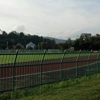 Photo taken at Ranong Province Stadium by thi t. on 1/8/2013