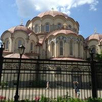Photo taken at Воскресенский Новодевичий женский монастырь by St. Petersburg on 7/4/2013