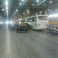 Photo taken at Mercedes-Benz Türk Hosdere Otobüs Fabrikası by Atıf E. on 7/4/2014
