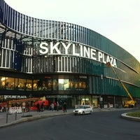 Photo taken at Skyline Plaza by Dave P. on 9/16/2013