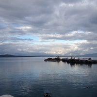 Photo taken at Pantheon City Hotel Gythio by Noémie J. on 4/7/2014